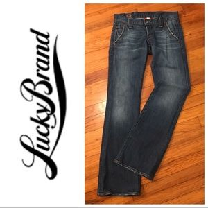 Lucky Brand Lil Maggie Low Rise Jeans